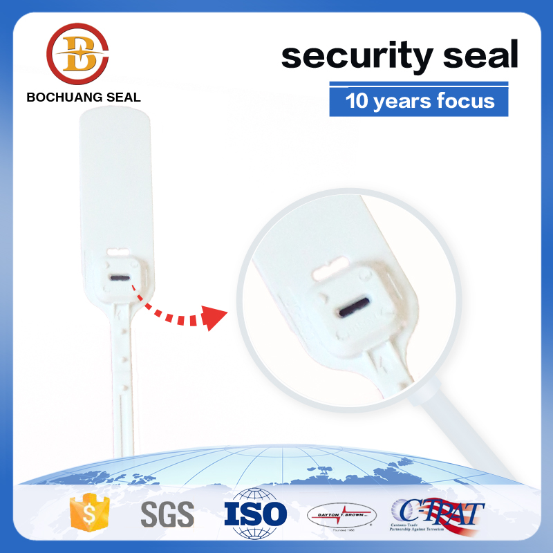 Security plastic seals high tensile strength BC-P405