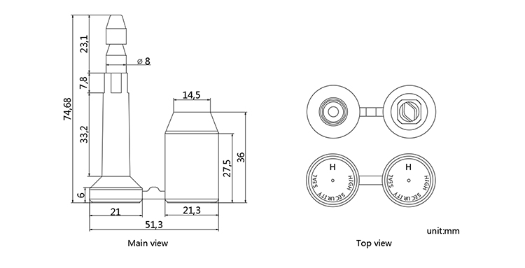 B102 bolt seal CAD