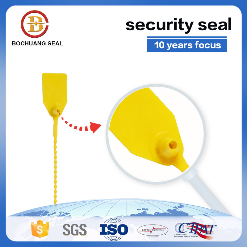 BC-P502 Bamboo pull tight strap plastic seals plastic security seal
