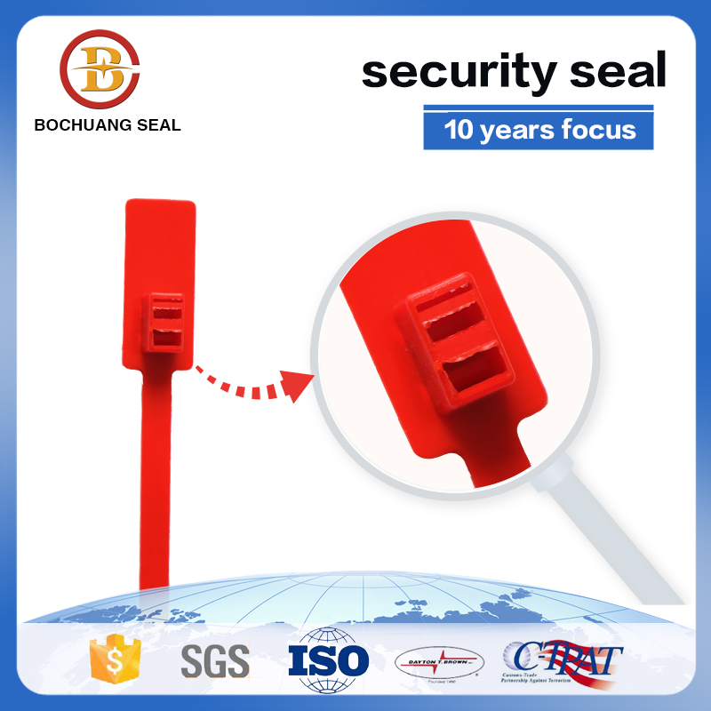one time model Plastic Seal Security Bag Plastic Seal