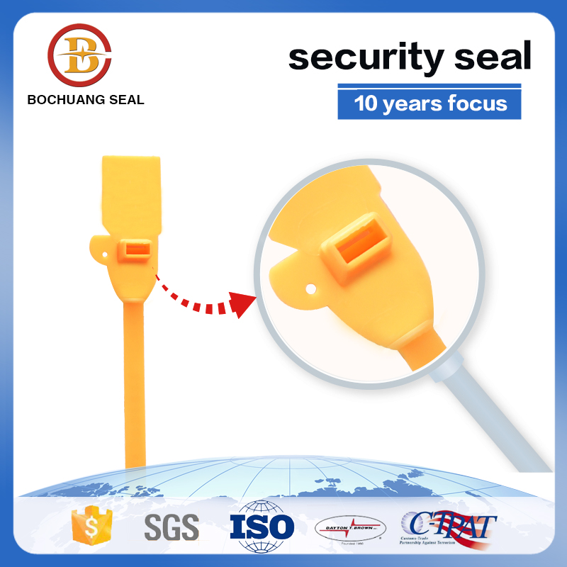 Plastic Security Seals For Transportation