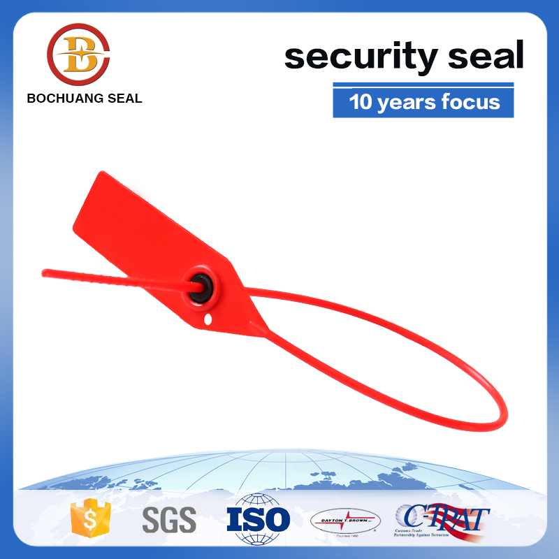 Plastic Strap Bag Seal with Gripping Teeth