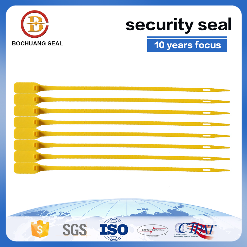 Pull tight Adjustable Length Plastic Seal