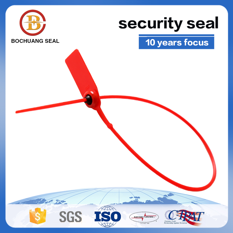 Disposable high security plastic seal