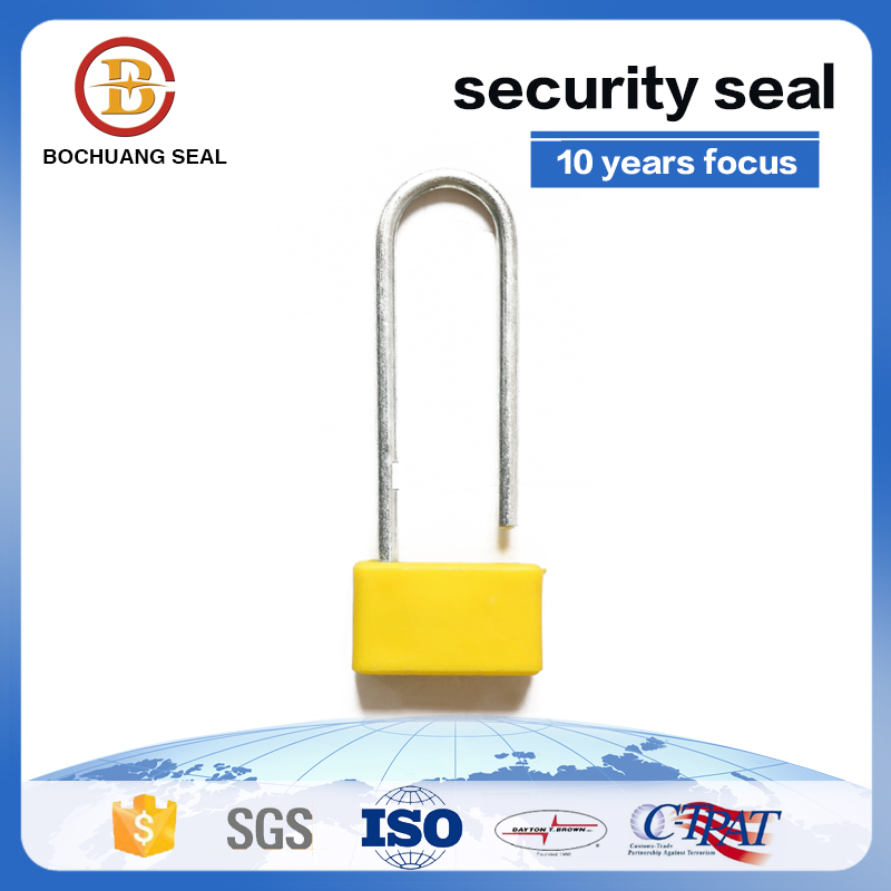 high quanlity disposable airplane padlock Plastic Seals