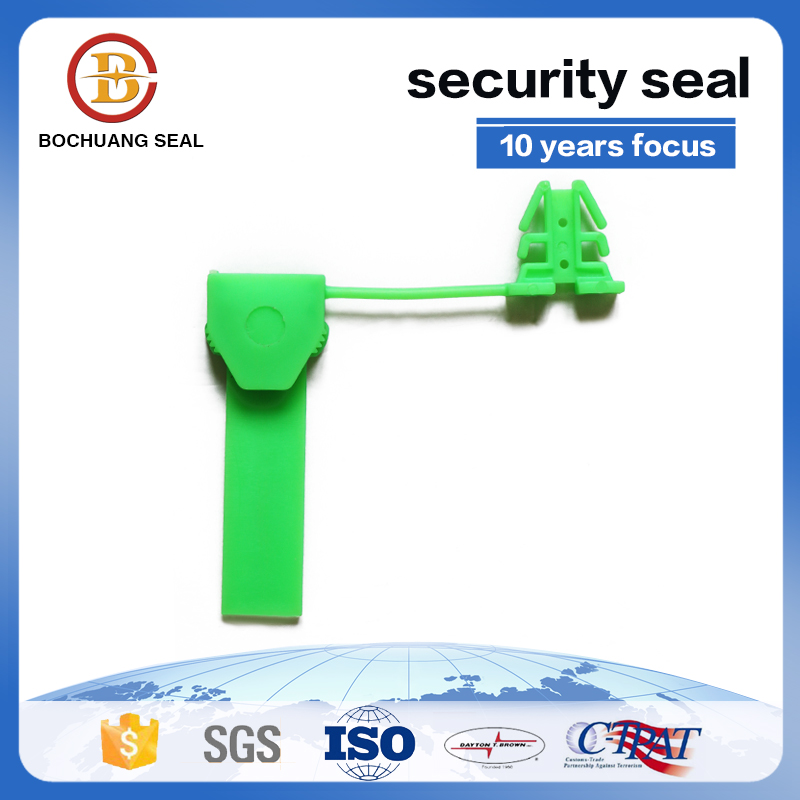 L105  china supplier disposable airplane padlock Plastic Seals