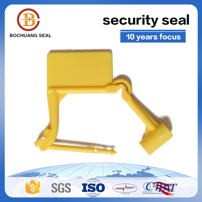 One time use security plastic padlock seal