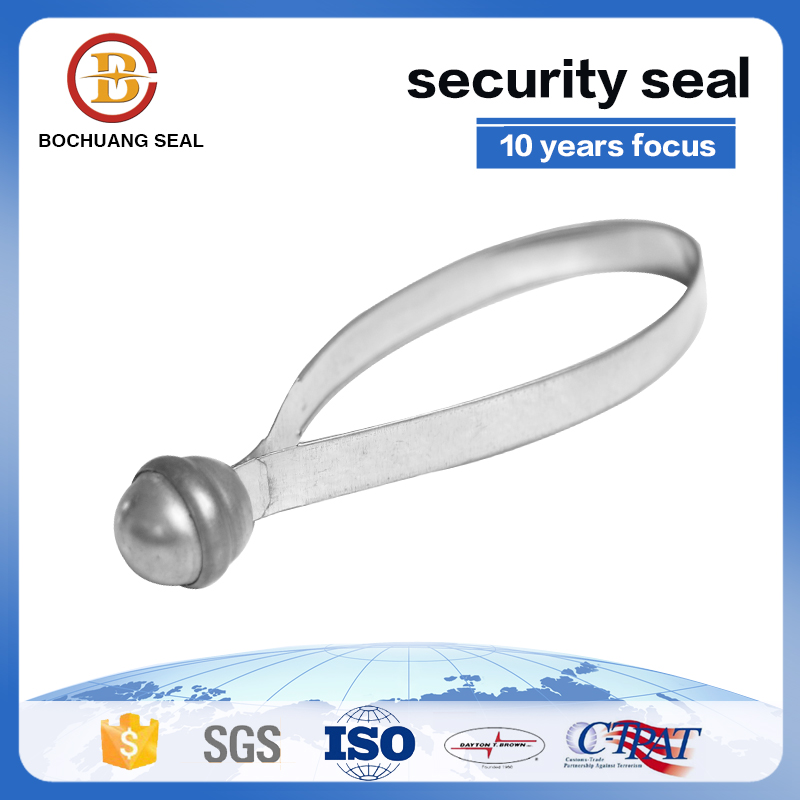 Round head Tinplate steel Metal Strap Seal, Metal Strip Seals Metal seal
