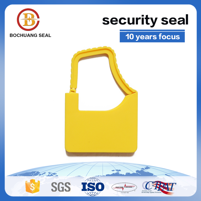 China Supplier Plastic Padlock Seal, Security Padlocklock in China