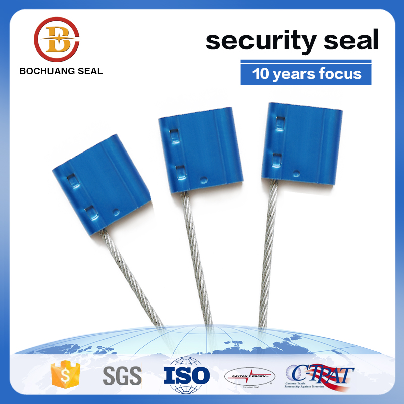 aluminum alloy lock head cable seal with high security
