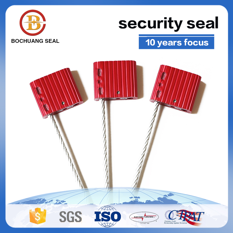 Security container cable seal