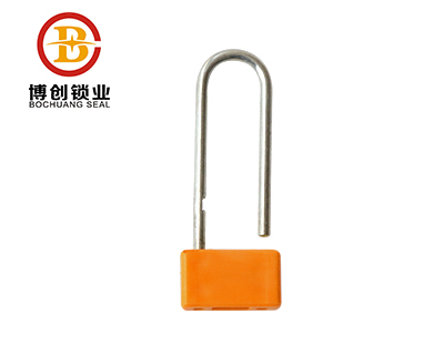 BC-L203 high quanlity disposable airplane padlock Plastic Seals