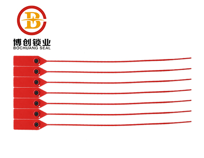 BC-P407 Plastic Strap Bag Seal with Gripping Teeth