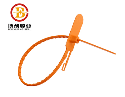 Adjustable-Length Plastic Security Seals P102