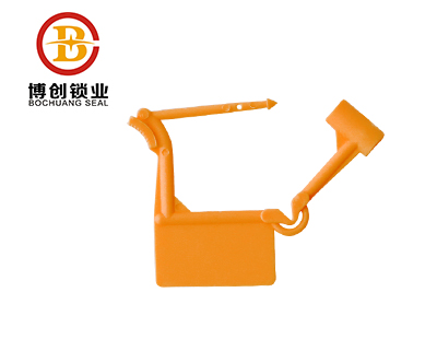 disposable plastic padlock for luggage L103