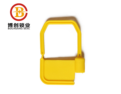 Plastic seal for bank cash box use L106