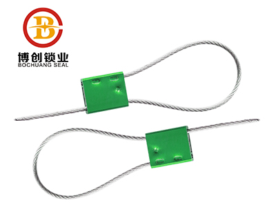 C203 aluminum self-locking secuity cable seal