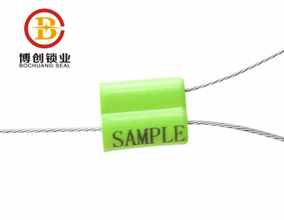 BC-C402 Pull Tight Adjustable Length Cable Wire Seal for Bank Cash Box