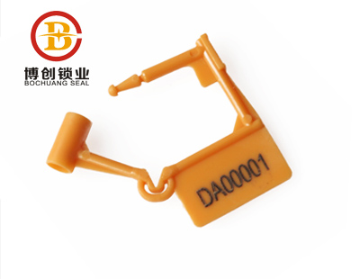 BC-L102 plastic padlock seals for drums