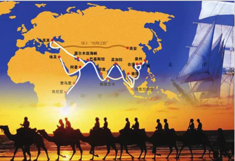 Belt and Road routes