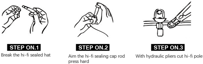 bolt seal the use of steps