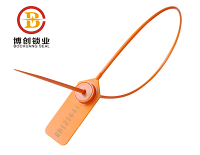 New material one time use PP car plastic seal tag