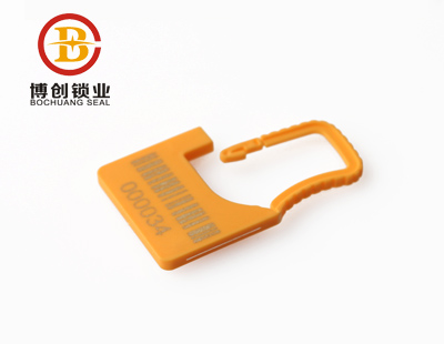 Top quality Plastic padlock seals Disposable Plastic Padlock Seal