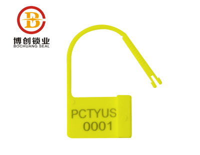 Plastic padlock seal water meter security seal one time use high security lock